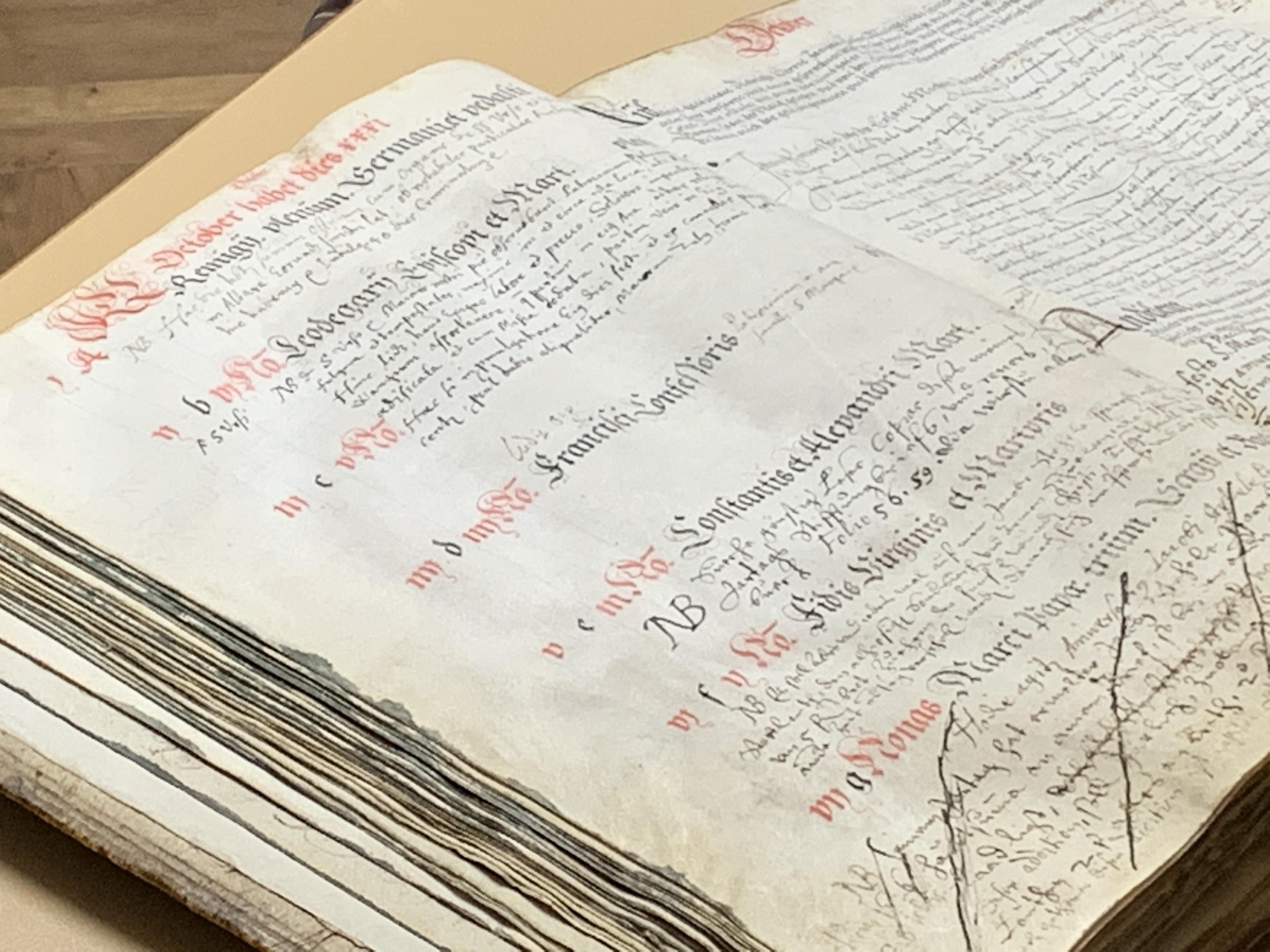 Vortrag 01.10.2019: Was die Sterbe- und Taufverzeichnisse (ab 1591) preisgeben