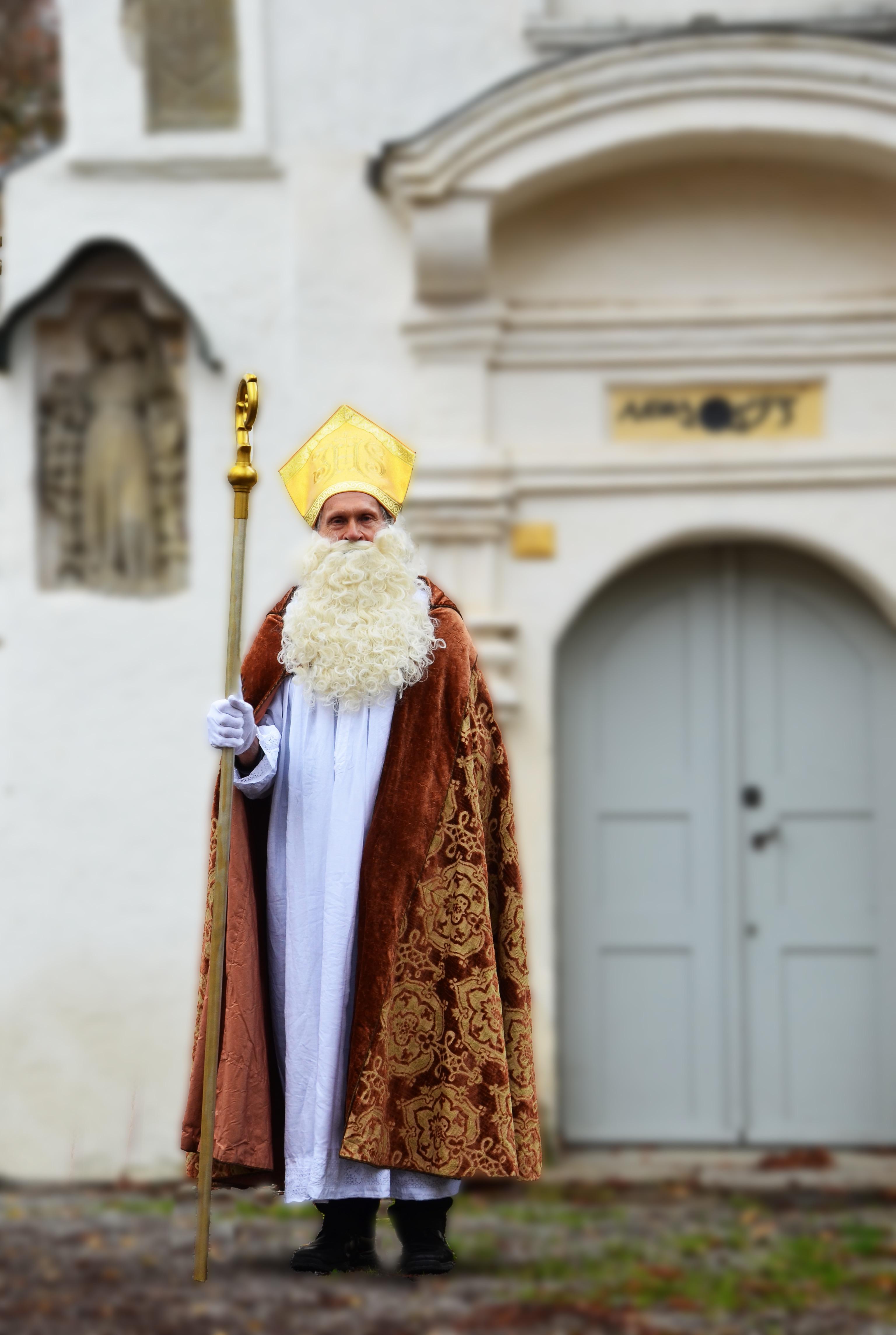 Nikolausfeier für Wangener Kinder am 05.12.19 in der Rochuskapelle