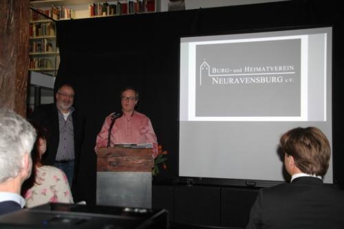 """Vortrag von W. Roth und M. Schlingmann über ihr neues Buch """"Ehe noch das Laub fällt"""""""