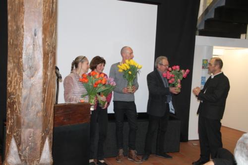 Theo Keller ehrt langjährige Mitarbeiter